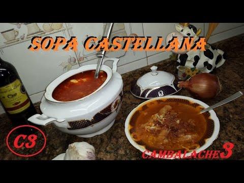 Sopa castellana o sopas de ajo youtube - Sopa castellana youtube ...