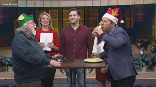 The Elf Game Show: musical guests and trivia.