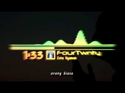 Fourtwnty - Aku Tenang (Karaoke)