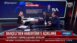 Türkiye'nin ilk Milli Uzay Programı #CANLI