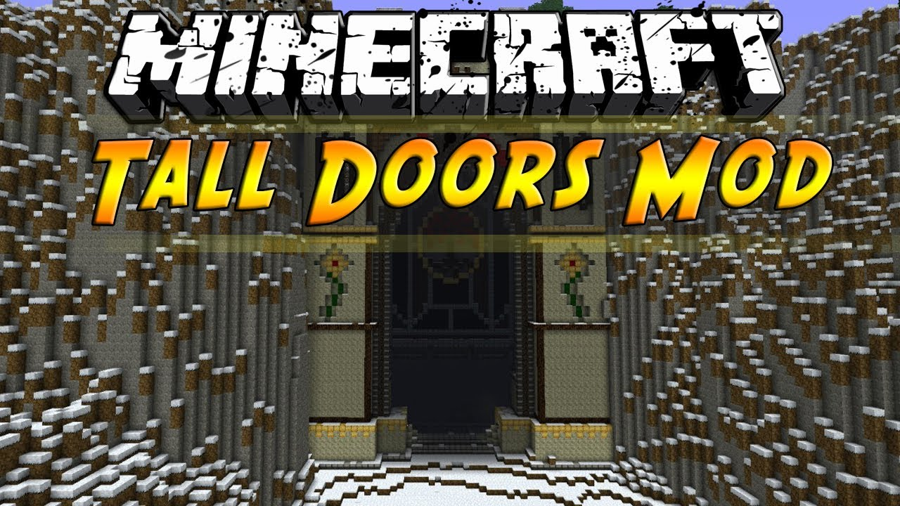 Tall Doors Mod 9minecraft Net