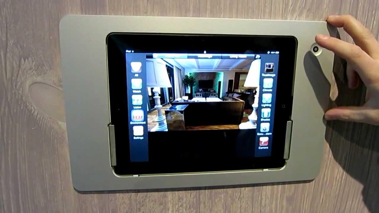 iRoom iDocks: Wall-mounted docks for your iPad - YouTube