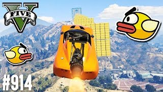 Flappy Bird in GTA! (+DOWNLOAD) | GTA 5 - CUSTOM MAP RENNEN
