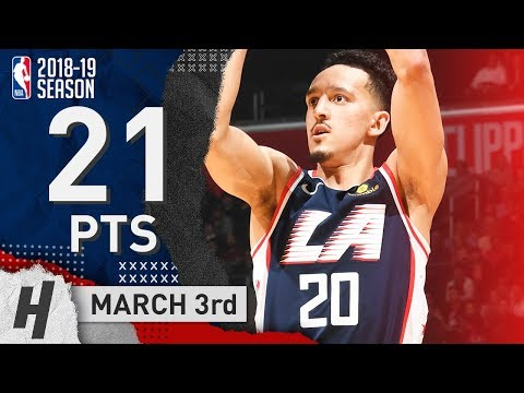 Landry Shamet Full Highlights Clippers vs Knicks 2019.03.03 - 21 Points in 3 Quarters!