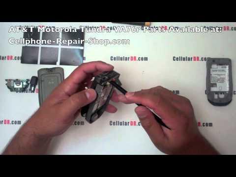 AT&T Motorola Tundra VA76r Repair Video Disassembly Take Apart Instructions