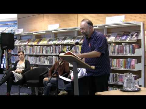 Andrey Kurkov reading at the Norfolk and Norwich Millennium Library