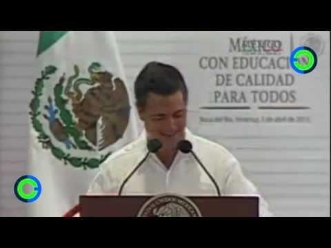 Peña Nieto le cambia el nombre a la capital de Veracruz