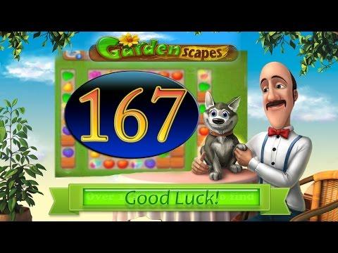 Как пройти 167 уровень в игре gardenscapes