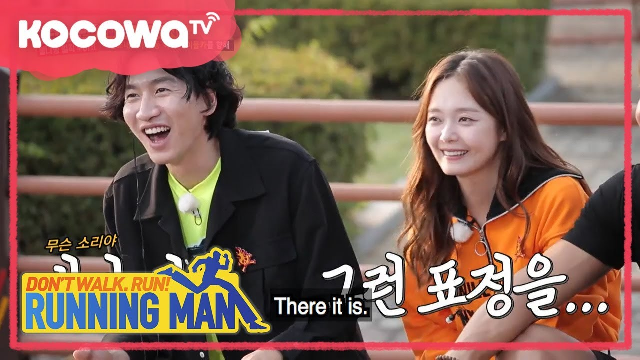 [Running Man] Ep 371_Gwang-su and So-min arrived to the cable car area with  much welcome!