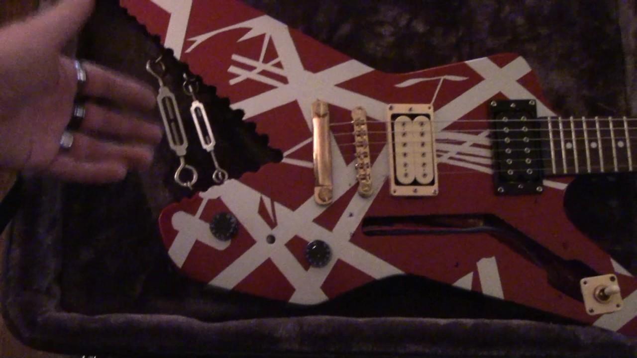 Evh Shark Guitar An Exact Replica Of Edward Van Halens Ibanez