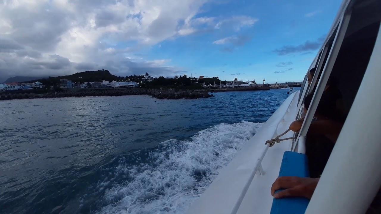 好天氣蘭嶼往臺東兩個小時 - YouTube