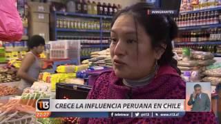 Crece la influencia peruana en Chile