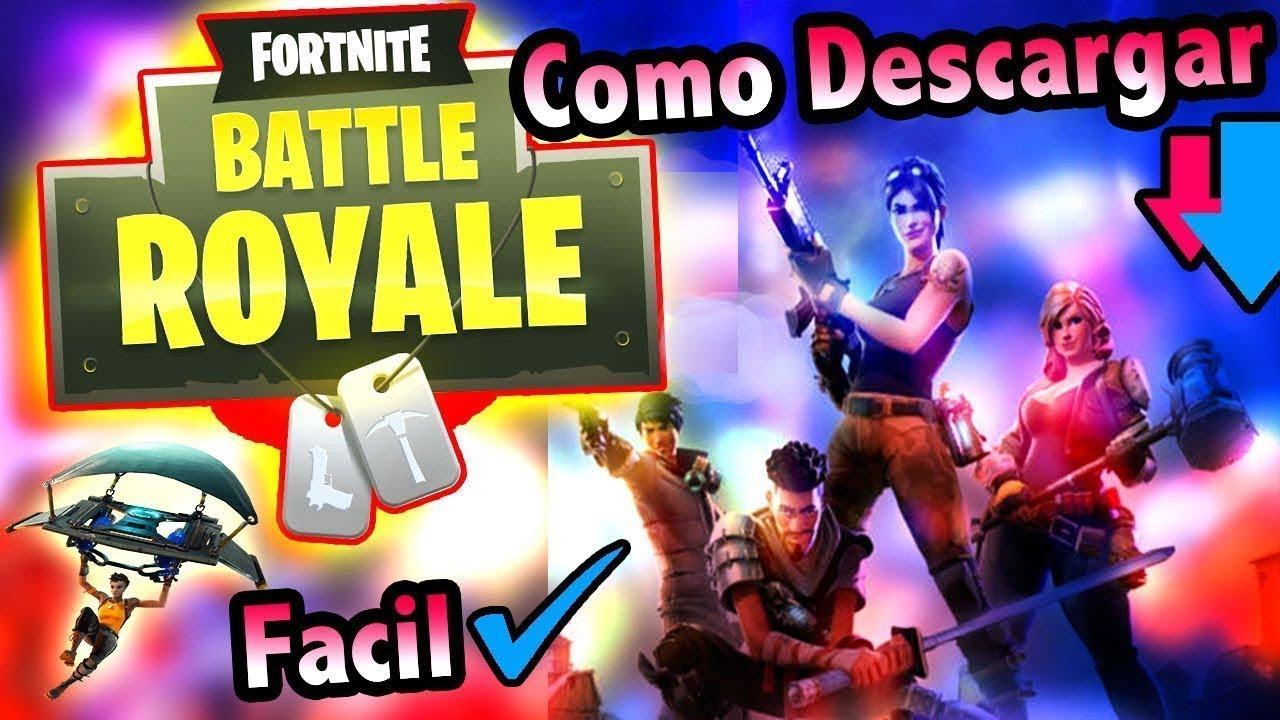 Descargar Fortnite Battle Royale Para Pc Gratis En Espanol 2018 Sin