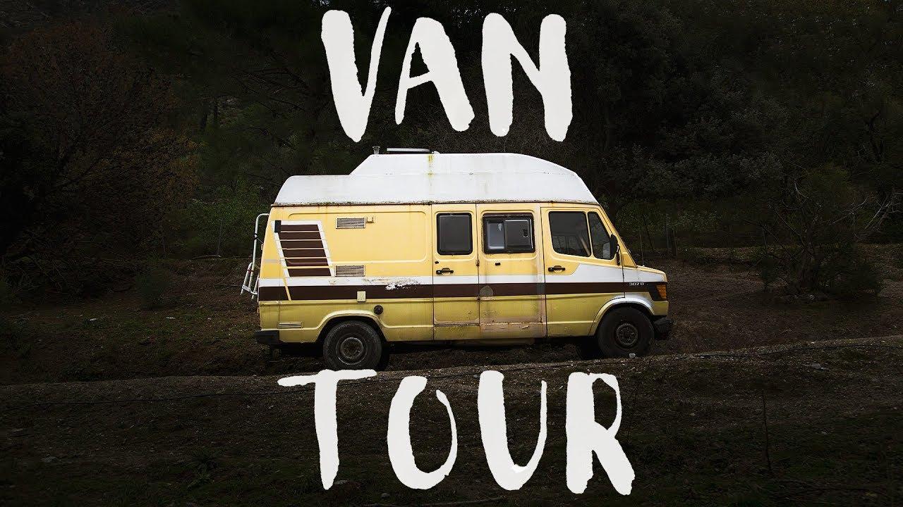 c9cac9322626b5 The Van Tour  Before the Renovation (Van Build - Part 1) - YouTube