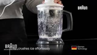 Насадка для колки льда Braun - видео обзор