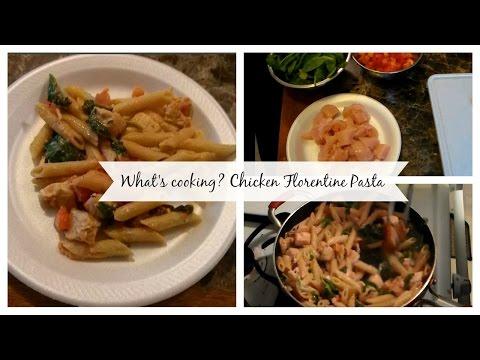 What's cooking? Chicken Florentine Pasta