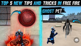 Top 5 New Tricks In Free Fire   Free Fire Tips and Tricks   Garena Free Fire   Part  72
