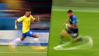 Mbappé Is Fast But  Neymar Is Outrageous