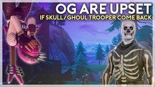 OGs are Upset Over Skull Trooper Possibly Coming Back (Fortnite Battle Royale)