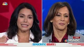 Democratic Debate: Tulsi Gabbard Goes After the Party, Tangles With Kamala Harris | NBC New York