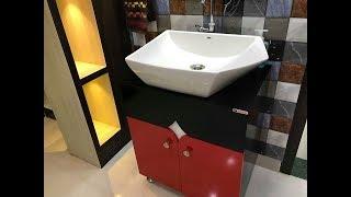 Counter Top Wash Basin Cabinet Ready Made Wash Basin Cabinet Interior Jagat Youtube