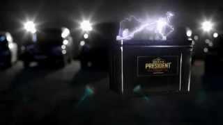 Корейские аккумуляторы President Delkor