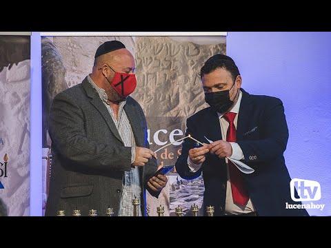 VÍDEO: Lucena se suma a la celebración de la Janucá o Fiesta de las Luces de la tradición religiosa judía