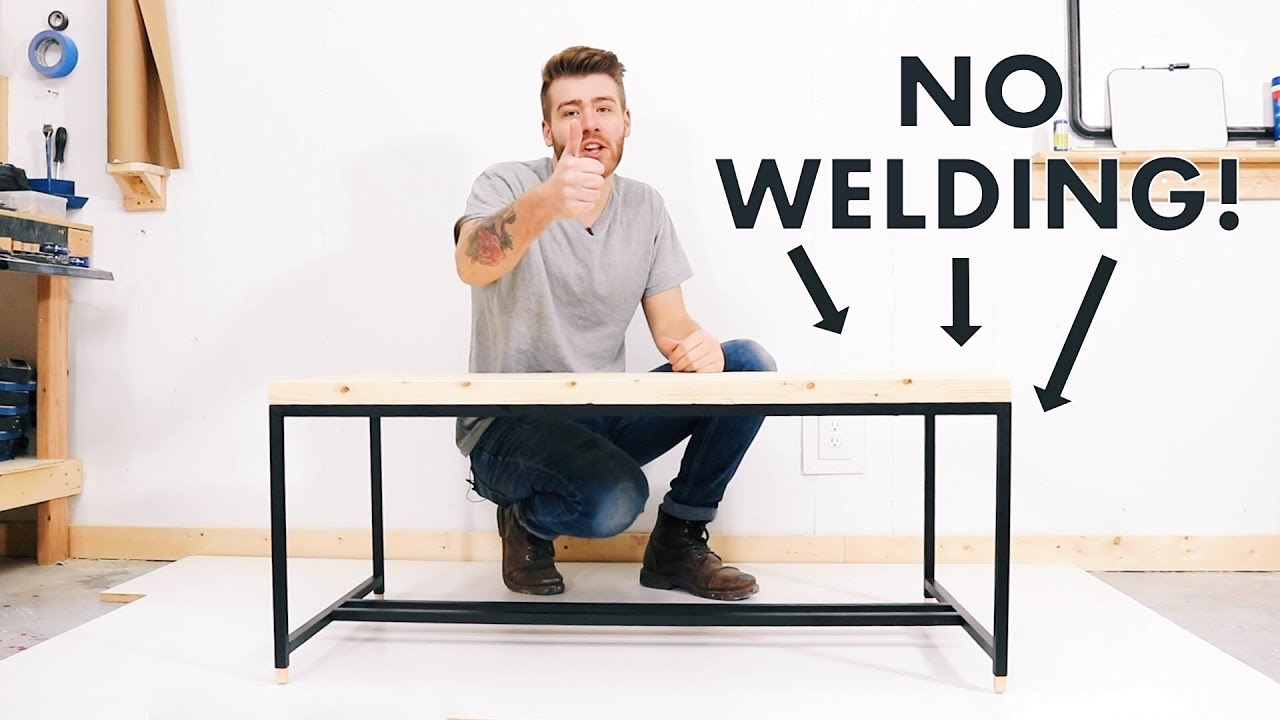 Diy Metal Based Coffee Table W No Welding Modern