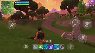 Mobile fortnite glitch.!!!!!