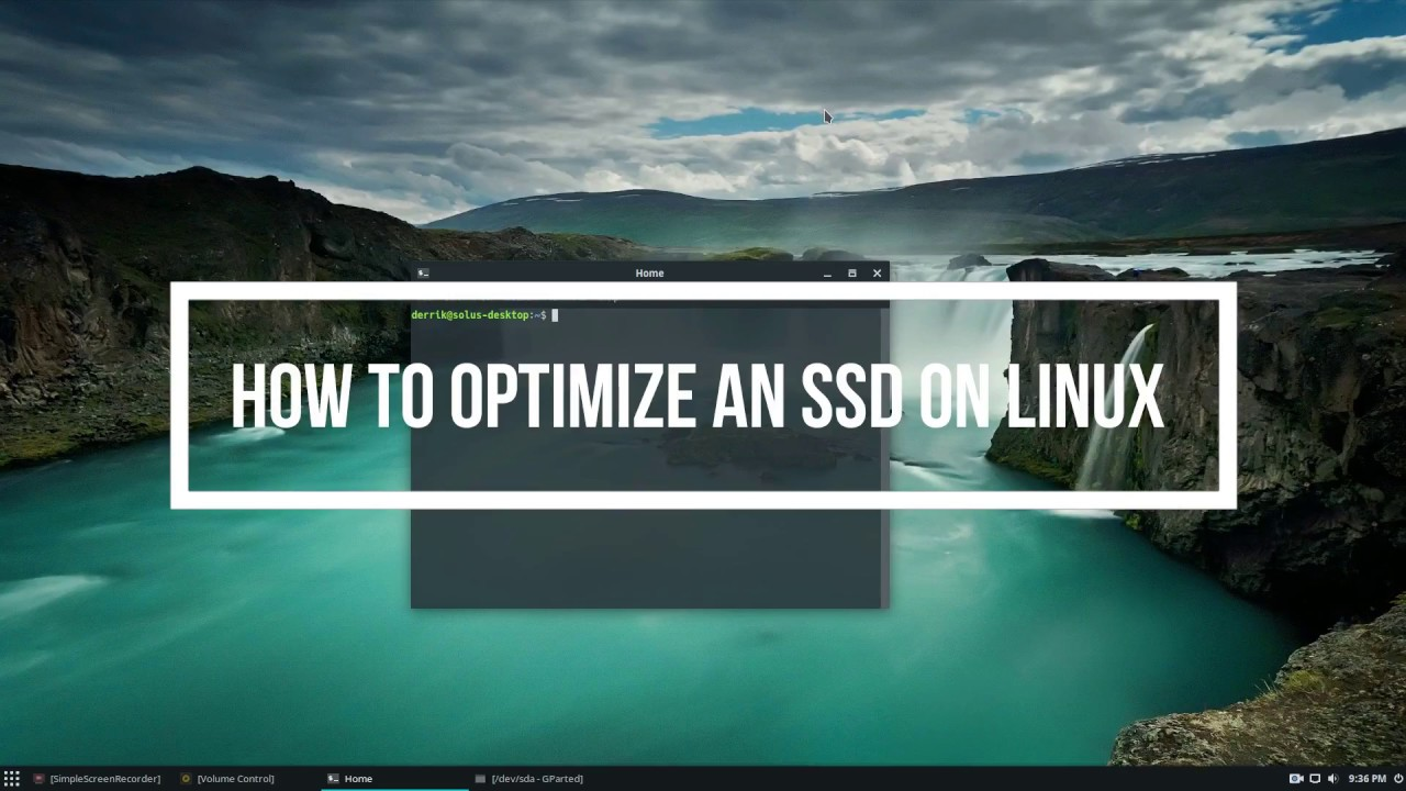 How To Optimize An SSD On Linux