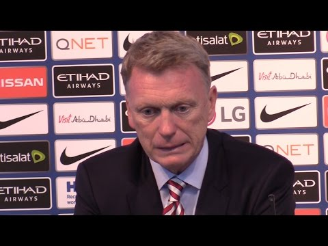 Manchester City 2-1 Sunderland - David Moyes Full Post Match Press Conference