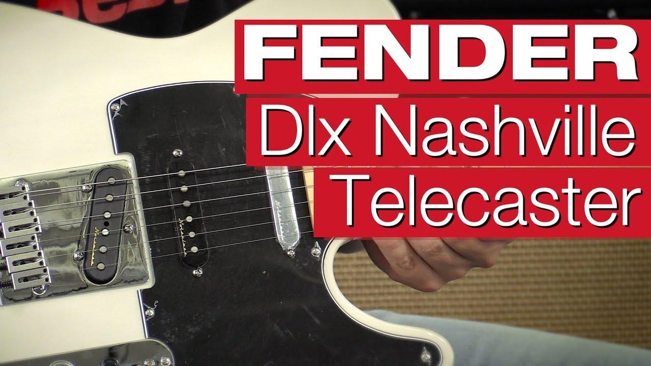 Fender Deluxe Nashville Telecaster MN WBL E-Gitarren-Review von ...