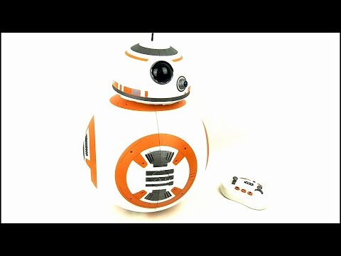 STAR WARS Interactive R/C BB-8 Toy Review | Votesaxon07