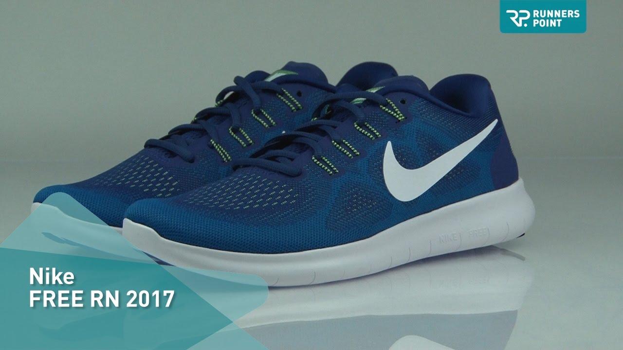 Perfekt Nike Free Rn Distance Sportschuhe in Lila Damen