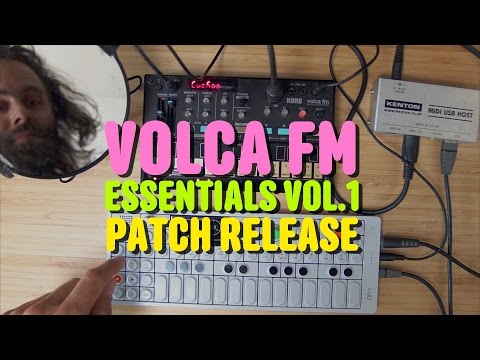 Korg Volca FM Cuckoo Essential Patches vol.1