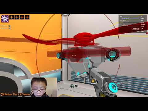 Sheldon Robocraft 10 - Flying Robots  :Test & Build