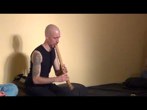 """Pink Floyd's """"Shine On You Crazy Diamond"""" Performed On Zen Shakuhachi Flute (live, Acoustic)"""