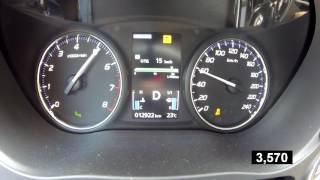 Mitsubishi Outlander GT - Acceleration 0-100 km/h (Racelogic)