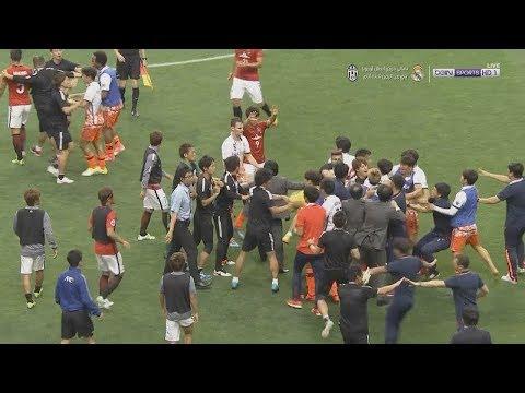 Fight Between Players   Urawa Reds 3-0 Jeju United   ACL 2017   浦和レッズ 3-0 済州ユãƒ