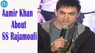 Aamir Khan Talks About Director S S Rajamouli - PK Movie
