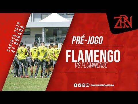 FLAMENGO x FLUMINENSE (SEM IMAGENS)   CAMPEONATO CARIOCA 2020