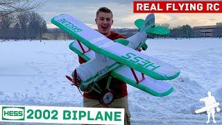 Real Flying RC 2002 HESS Biplane!