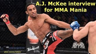 A.J. McKee on Conor McGregor, James Gallagher, Justin Lawrence