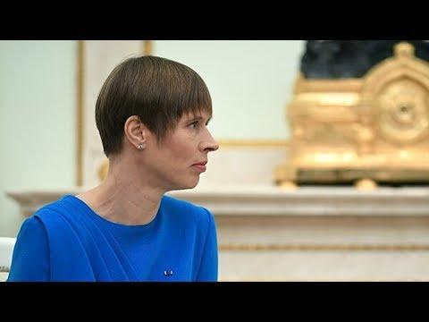 Кальюлайд ответила на заявления о территориальных претензиях к России