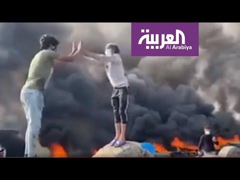 رغم التصعيد والعنف.. مشاهد طريفة في تظاهرات العراق اليوم  - نشر قبل 2 ساعة