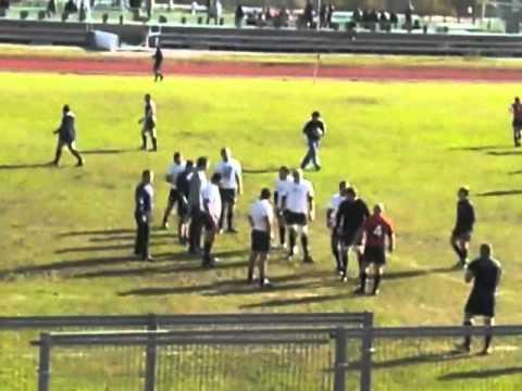 Calentamiento rugby.Touch y tres cuartos. - YouTube