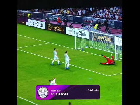 PES 20 - Asensio Save The Day