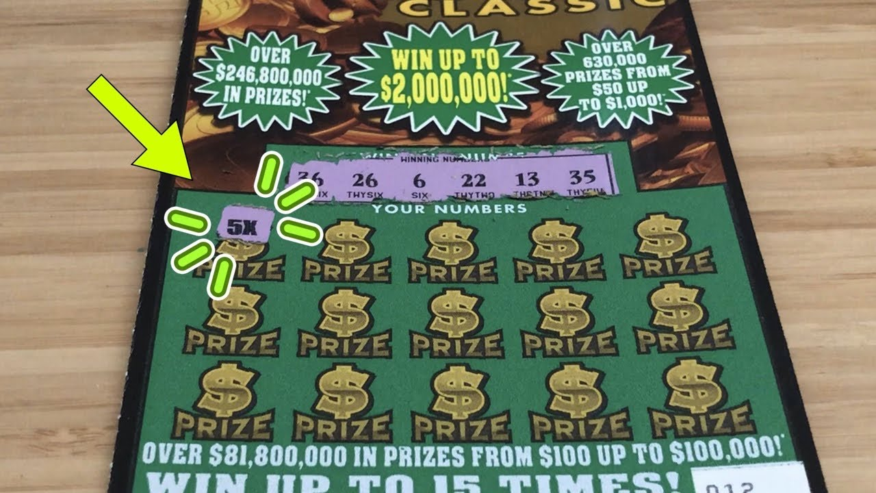5X! 😝 | 2 x $10 Florida Lottery Scratch Tickets!