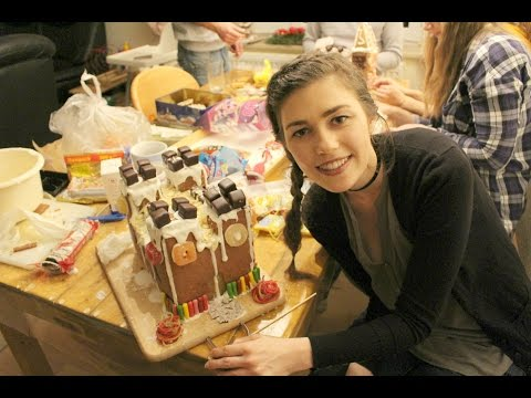 GERMAN GINGERBREAD HOUSE COMPETITION
