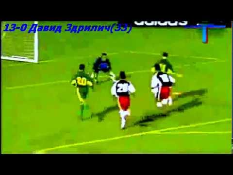 Australia Vs  American Samoa 31-0